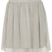 Grey Mini Tulle Skirt - New In This Week  - New In