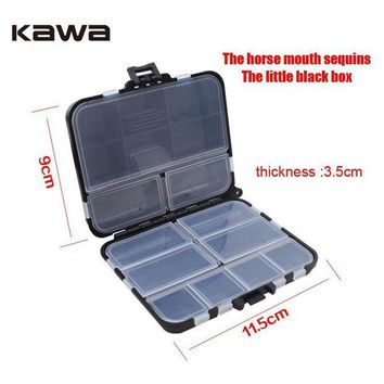 DCCKUH3 Kawa Fishing Lure boxs, Fishing Tackle Boxes Fish Lure Hooks Bait Fishing Accessories Waterproof Tool Case With Miss Rope