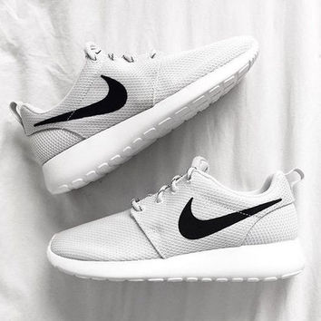 be7b8cf7ee17 Nike Roshe Run Women Men Casual Sneakers Sport Running Shoes