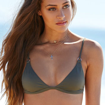LA Hearts Fixed Triangle Bikini Top at PacSun.com