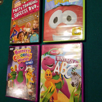 Lot of 4 Children's DVD's