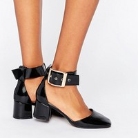 ASOS SUKI Square Toe Heels at asos.com