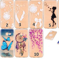 Ultrathin Clear Soft Silicone Phone Case For Galaxy S8 S8 Edge/A3 A5 /J3 J5 J7 Prime