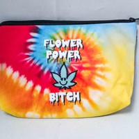 Flower Power Cosmetic Bag