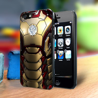 Iron Man Mark XLVII Suit iPhone 4, 4s, 5, 5s, 5c or Galaxy S3 S4 S5 Note 2, 3 Cell Phone Back Case Cover