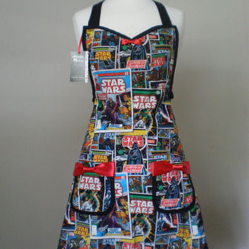 Star Wars  comic book Apron Limited Quantity
