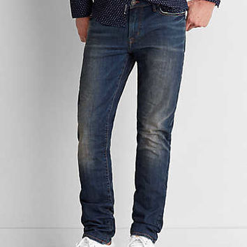 Slim Selvedge Jean, Medium Vintage Wash