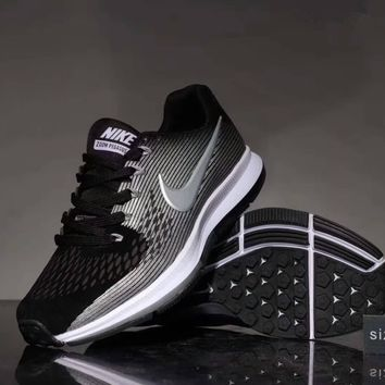 """""""Nike Air Zoom Pegasus 34"""" Sport Casual Unisex Non-slip Wear-resistant Light Running Shoes Couple Sneakers"""