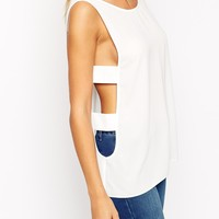 ASOS Vest With Cage Detail