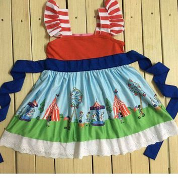 In Stock- Circus time dress