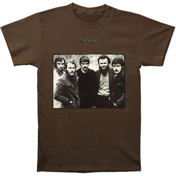 Band Men's  The Band Over Dyed T-shirt Dark Chocolate