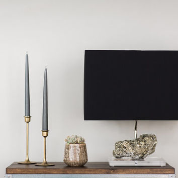 Pyrite Table Lamp // Designer Mineral Specimen Table Lamp (L9)