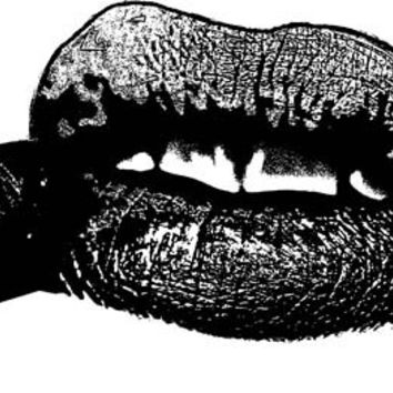 lipstick tube lips womans mouth png clip art Digital Image Download art graphics makeup cosmetics printable wall art, black and white art