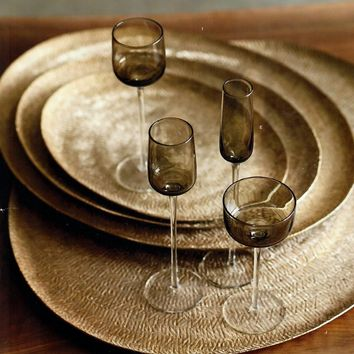 Fonce Glassware & Forge Dessert by Roost – BURKE DECOR