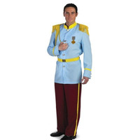 Disguise Costumes Mens Prince Charming Halloween Party Costume Set