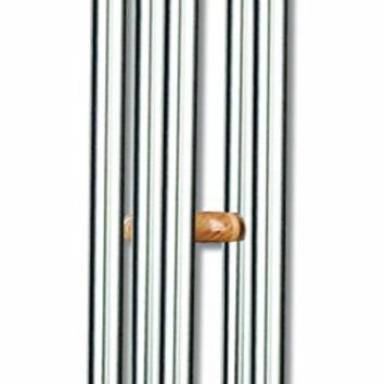 Sunset Vista Designs Silver Classic Wind Chime, Extra Large