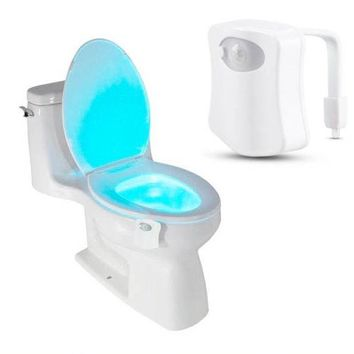 Copy of Toilet Nightlight LED Motion Activated On/Off Seat Sensor Light- 8 Color LED
