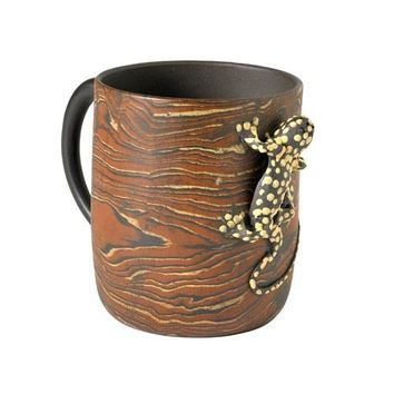 Lizard Tea Mug - Chinese Yixing Clay