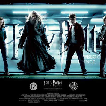 Harry Potter and the Half-Blood Prince (UK) 30x40 Movie Poster (2009)