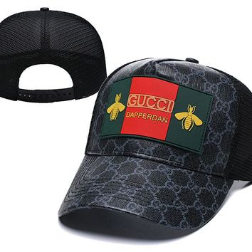Honeybee Gucci Nylon Baseball Cap Unisex Hat Summer Gift