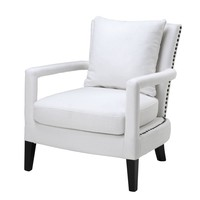 White Lounge Chair | Eichholtz Gregory