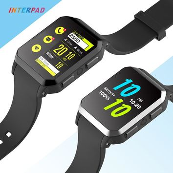 Interpad Smart Watch GPS 3G MTK6580 With Camera IP68 Professional Waterproof Smart-watch Support Sim Card Dial Call For Xiaomi 8
