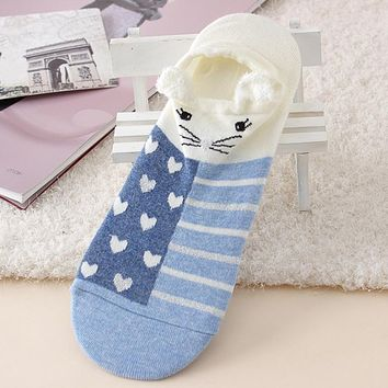 Fashion Cute Lovely Cartoon Socks Animal Zoo Funny Style Decoration Women Socks Ladies Girls Cotton Warm Soft Sox Lovely Meias
