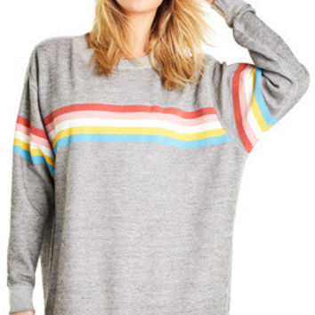 Marvel Stripe Roadtrip Sweater - Wildfox