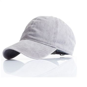 Solid Color Streetwear Baseball Cap