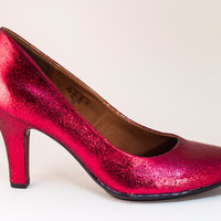 Glitter 3 Inch Heel Shoes