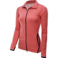 Nike Women's Dri-Fit Lightweight Running Jacket-Light Red