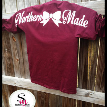 ADULT SIZE!!    Northern  Made Long Sleeve Basic T-Shirt