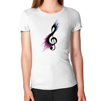 Music sign spill Women's T-Shirt