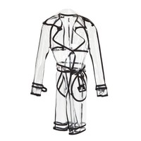ModeWalk.com: Johnny Transparent Trench Coat by Wanda Nylon