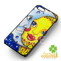 sun and moon celestial-1nay for iPhone 4/4S/5/5S/5C/6/ 6+,samsung S3/S4/S5,S6 Regular,S6 edge,samsung note 3/4