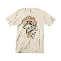 Element Grizzled Wolf T-Shirt - Short-Sleeve - Men's Vanilla,