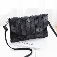 Women Fashion Bao Bao Flap Bag Girls Geometric BaoBao Handbag Sequins Mirror Casual Clutch Crossbody Shoulder Bags Small Satchel