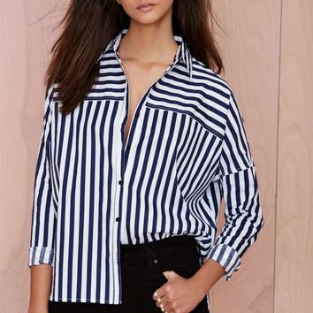 Nasty Gal Blair Poplin Shirt