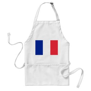 Apron with Flag of France
