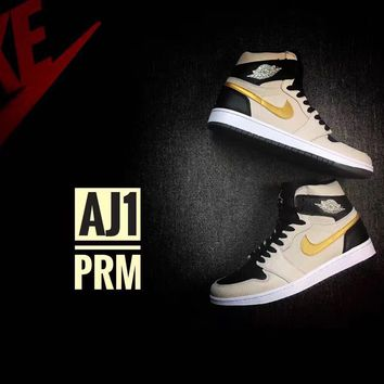 Air Jordan 1 Retro High AJ1 PRM Men's Sneaker US7-12