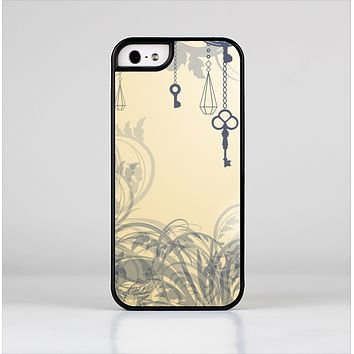 The Vintage Hanging Clocks and Keys Skin-Sert for the Apple iPhone 5-5s Skin-Sert Case