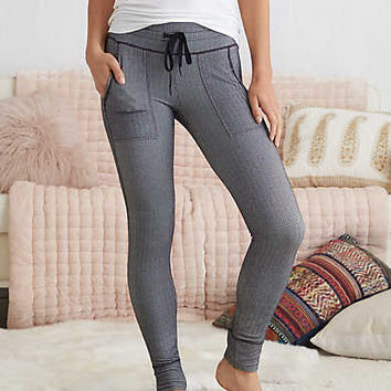 Aerie Play Textured Legging , True Black