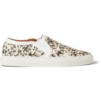 Givenchy - Skate Shoes in Floral-Print Leather | MR PORTER