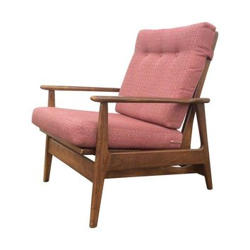 Pre-owned 1960s Danish Modern Rocking Lounge Chair