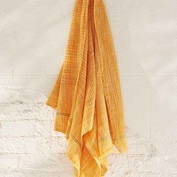 Aunti Oti Rustic Yellow Towel