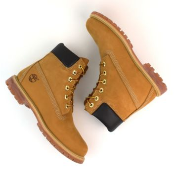 Timberland Rhubarb boots for men and women shoes waterproof Martin boots lovers Yellow G