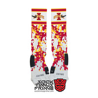 Custom Nike Elite Socks - Iowa State Custom Nike Elites - Iowa State Cyclones, Custom Elites, Nike Socks, Iowa State Socks