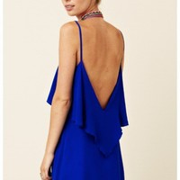 Blu Moon - Silk Summer Lovin' Dress