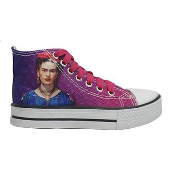 Original Frida Kahlo High Top Shoes - As is