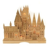 Home Decor HOGWARTS LIT CENTERPIECE Wood Harry Potter 6011102